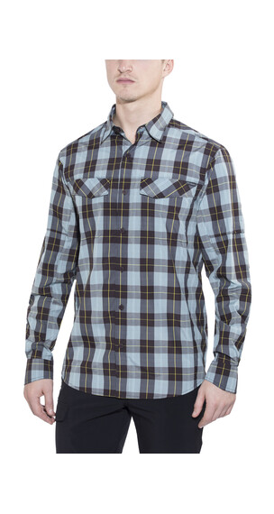 Columbia Silver Ridge Plaid Long Sleeve Shirt Men New Cinder Heathered Plaid